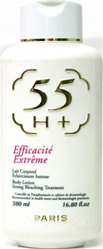 55 H+ Body Lotion Strong Bleaching Treatment-16.80oz