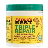 Africa's Best Triple Repair Oil Moisturizer Miracle Cream