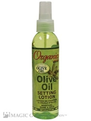 Africa's Best Organics Olive Oil Setting Lotion - 6oz