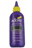 Adore Plus Hair Color For Gray Hair #398 Jet Black
