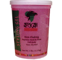 African Essence Styling Gel - Pink (Normal Hold) 51oz