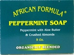 African Formula PEPPERMINT SOAP - 5oz green box