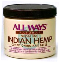 All Ways Natural Indian Hemp Conditioning Hair Dress