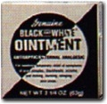 Black & White Ointment 5/8oz
