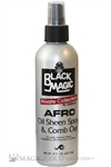 Black Magic  Afro Oil Sheen Spray & Comb Out (8oz)