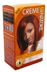 Creme of Nature Red Copper #6.4 with Argan Oil.