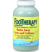 FOOTHERAPY Bathe Away Corns and Calluses - 16oz bottle