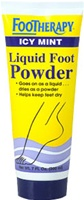FOOTHERAPY LIQUID FOOT POWDER - Icy Mint - 7oz tube