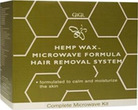GiGi Microwave Formula HEMP Wax - Hair Removal System kit