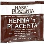 Hask HENNA-N-PLACENTA Conditioning Treatment - 2oz PACKET