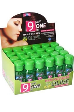 9 One Hair Polisher Olive (1oz) Each Pcs