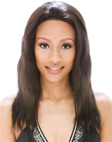 Janet Collection Full Lace Wig Imperial Wig (Wet and Wavy) 100% Pure Indian Remy / Remi Human Hair