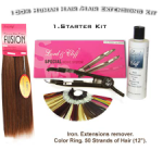 Lord & Cliff / Lord and Cliff Fusion 100% Human Hair / Extensions Starter Kit #1