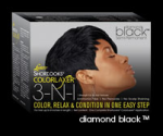 Luster's Short Look Diamond Black Rich Color Relaxer