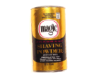Magic Shave Fragrant Shaving Powder - 4.5oz Gold/Black can