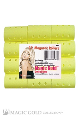 12 Magnetic Rollers (25mm)