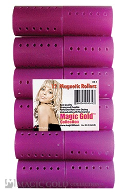 12 Magnetic Rollers (46mm)