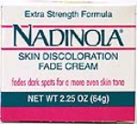 Nadinola Skin Discoloration Fade Cream Extra strength - 2.25 Oz