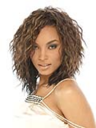 Supreme Hair - Synthetic Weave -   Honey Curl 10 Inches