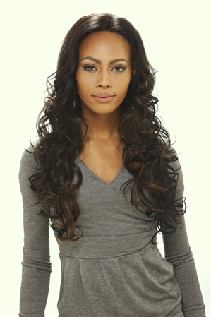 Sensationnel Human Hair Lace Front Wig Jennifer