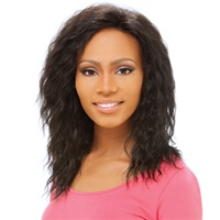 Sensationnel Human Hair Lace Front Wig Eva