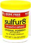 Sulfur8 Medicated Original Formula Anti-Dandruff Hair & Scalp Conditioner  4 OZ (113 G)