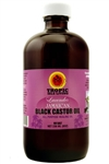 Tropic Isle Living Lavender Black Castor Oil (4oz)