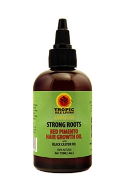 Tropic Isle Living Strong Roots Red Pimento Hair Growth Oil (4oz)